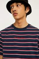 Uo No Bad Days Striped T-shirt