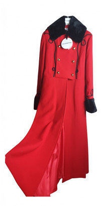 VIVETTA Red Wool Coats