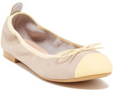 Restricted Come Over Two-Tone Ballet Flat