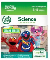 Leapfrog Learning Game: Sesame Street Solve it with Elmo (for LeapPad® Tablets and LeapsterGS)