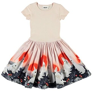 Molo Cissa Dress (Little Kids/Big Kids) (Sunset Bunnies) Girl's Clothing