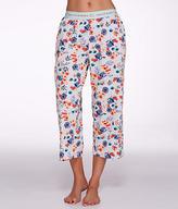 Hue Flower Desire Knit Capri Pajama Pants