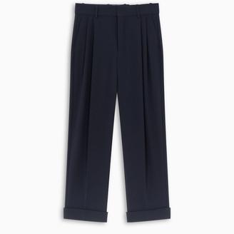 Chloé Blue pleats trousers