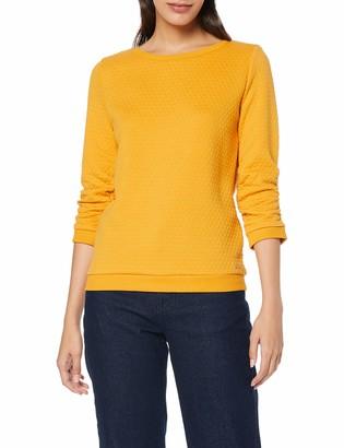 Tom Tailor Women's Strukturiertes Sweatshirt