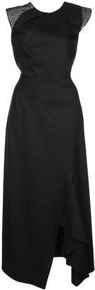 Roland Mouret Irton pinstripe dress