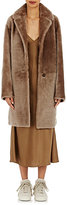 Helmut Lang Women's Reversible Shearling Coat-BEIGE