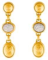 Gurhan Diamond Pavé Amulet Triple Drop Earrings