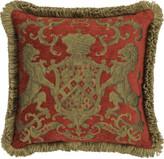 Adorabella Heraldic Red Cushion