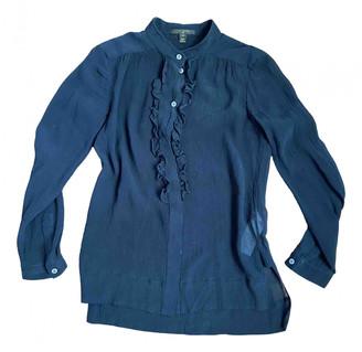 Louis Vuitton Black Silk Tops