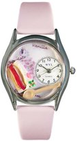 Whimsical Watches Women's S0310009 Pastries Pink Leather Watch