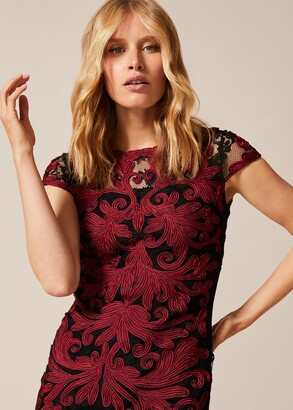 Phase Eight Eldora Tapework Lace Dress