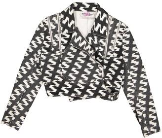 Jeremy Scott Black Cotton Jacket for Women