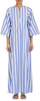 Thierry Colson Women's Striped Cotton Long Caftan