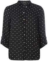 Dorothy Perkins Black Geometric Print Shirt