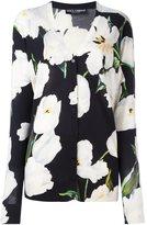 Dolce & Gabbana tulip print cardigan