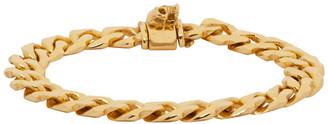 Emanuele Bicocchi Gold Edge Chain Bracelet