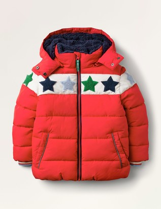 Cosy Star Boucle Padded Jacket