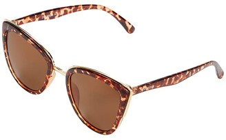 Steve Madden Lucia (Tortoise) Fashion Sunglasses