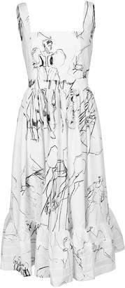 Alexander McQueen Dancing Girl Sleeveless Dress