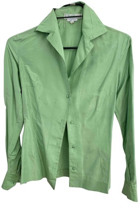 Emilio Pucci Green Silk Top for Women Vintage
