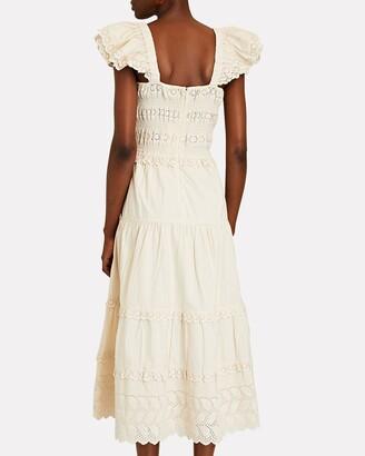 Sea Everleigh Smocked Cotton Eyelet Dress