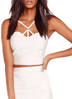 Missguided Bandage Harness Bralette Top