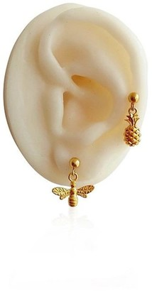 Daixa Somed Mini Pineapple Gold Earring