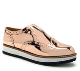 Qupid Newbie Lug Sole Wingtip Oxford