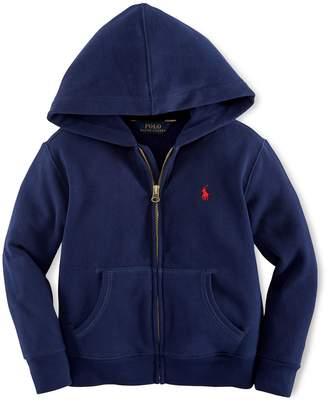 Ralph Lauren Childrenswear Little Boy's Front Zip Hoodie