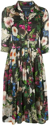 Samantha Sung Audrey floral print dress