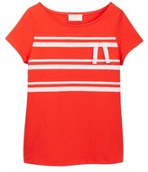 Kate Spade Ribbon Bow Tee (Big Girls)