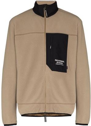 Pas Normal Studios Panel Detail Fleece Jacket