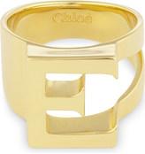 Chloé Alphabet E ring