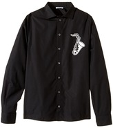 Dolce & Gabbana Saxophone Button Up Boy's Long Sleeve Button Up