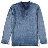 First Wave Big Boys 8-20 Pigment-Dyed Long-Sleeve Tee