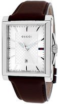 Gucci G-Timeless Collection YA138405 Men's Stainless Steel Analog Watch