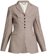 Stella McCartney Gael notch-lapel hound's-tooth checked jacket