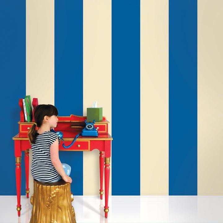 Wallcandy Stripe Temporary Wallpaper