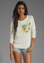 Joie Shaleah Vintage Photo Print Sweater