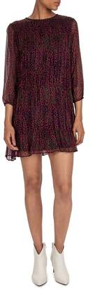 BA&SH Grace Printed Dress