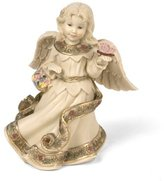 Sarah's Angels Tapestry Series Angel with Butterfly and Basket Figurine, 4-1/2""