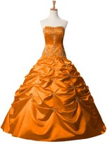 Sunvary Ball Gown Ruffled Quinceanera Prom Dresses Pageant