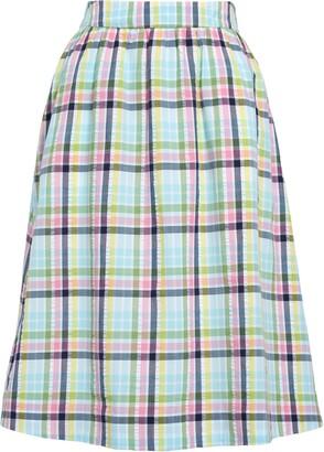 1901 Pull On Midi Skirt