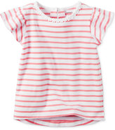 Carter's Flutter-Sleeve Striped T-Shirt, Toddler Girls (2T-4T)
