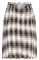 Max Mara Pattino Check Pencil Skirt