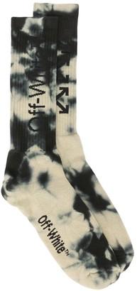 Off-White Tie-Dye Ribbed Socks