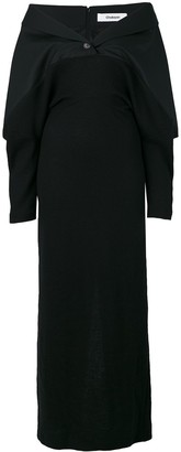 Chalayan Off The Shoulder Dress