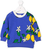 Mini Rodini Lemon print sweatshirt