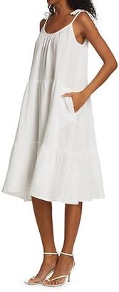 HONORINE Daisy Midi Shift Dress