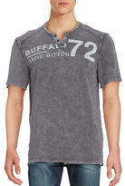 Buffalo David Bitton Cotton Logo Tee